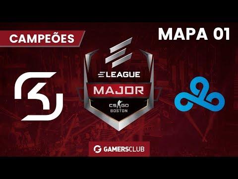 ELEAGUE Major: Boston 2018 (Semifinal) SK Gaming x Cloud9 (M1 Mirage)