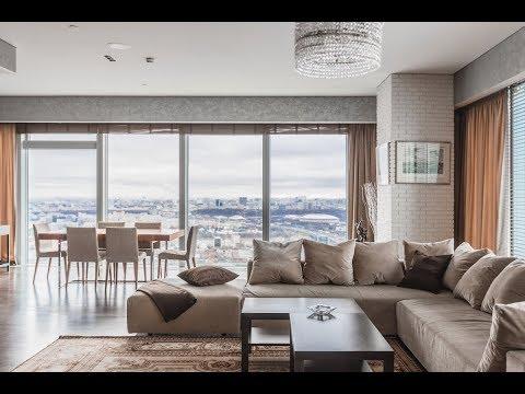 Апартаменты на 48 этаже с потрясающим панорамным видом