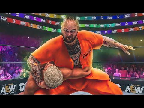 Bray Wyatt Debuts on AEW Dynamite as ROTUNDA (WWE 2K Universe Mods)