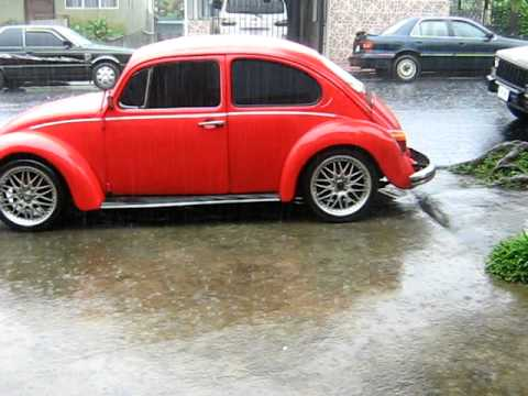 Vw San Diego >> VW Beetle 74(COSTA RICA) - YouTube