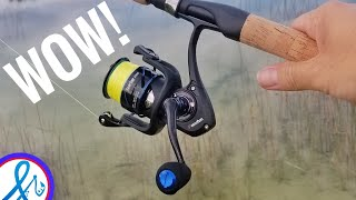 Piscifun Spartan All Metal Spinning Reel Unboxing and First Casts