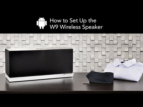 How to Set Up the Definitive Technology W9 Wireless Speaker - Android Device