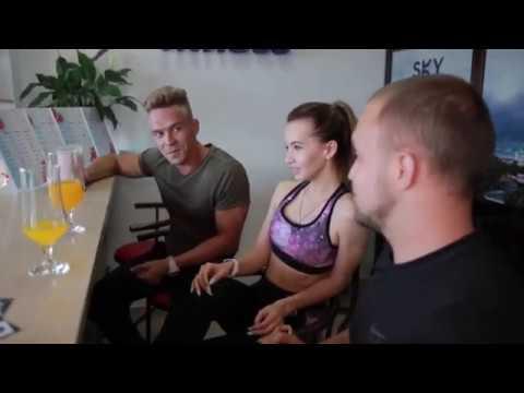 видеоролик для SKY Fitness Bar