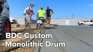 Monolithic Drum Gets It Done