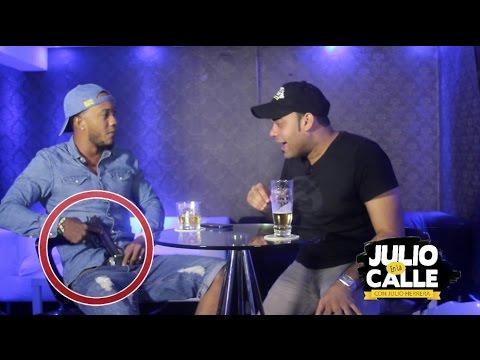 Download Anerap le saca pistola a artista urbano Dominicano -  Julio En La Calle
