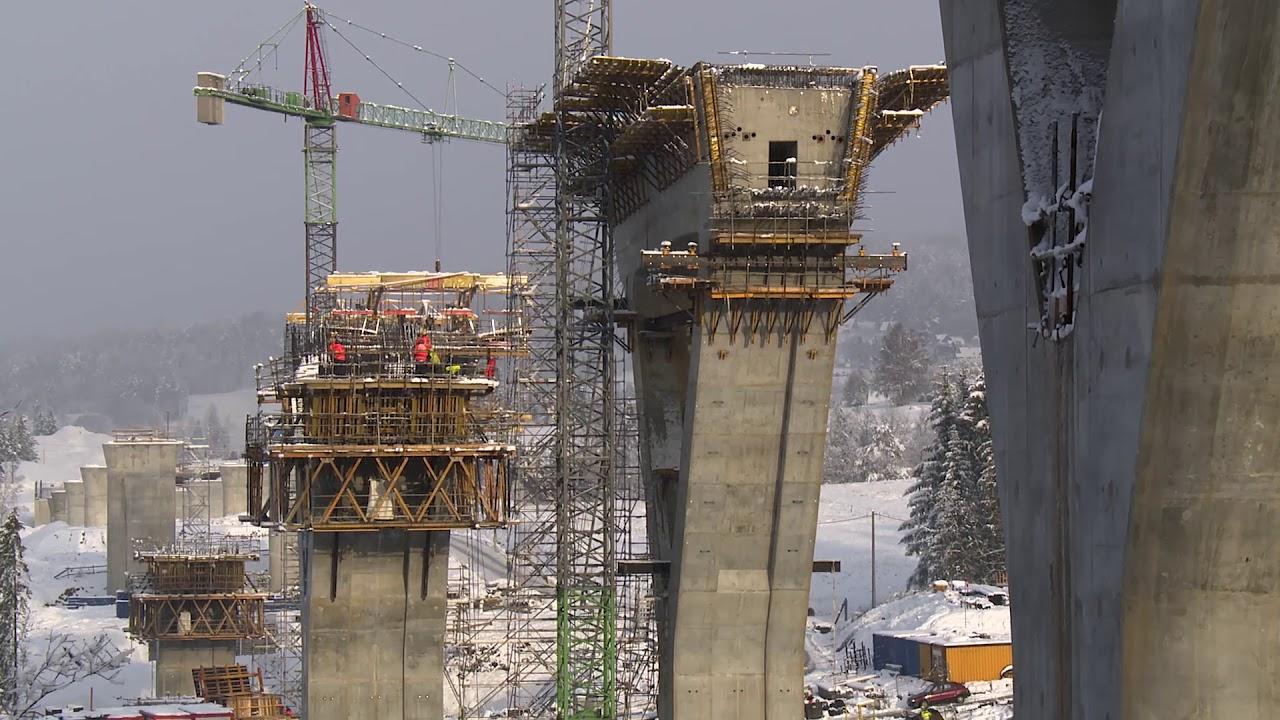 Obiekt 21 w ciągu drogi ekspresowej S7, Zakopianka, Polska  - ULMA Construction [pl]