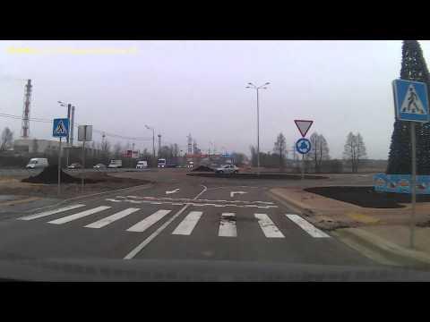 Тур по паркингу развязки Глобус Электросталь