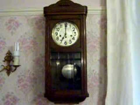 Junghans Westminster Chiming Wall Clock Youtube