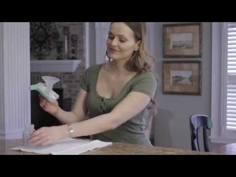 One Hand Manual Breast Pump | Purely Yours | Ameda