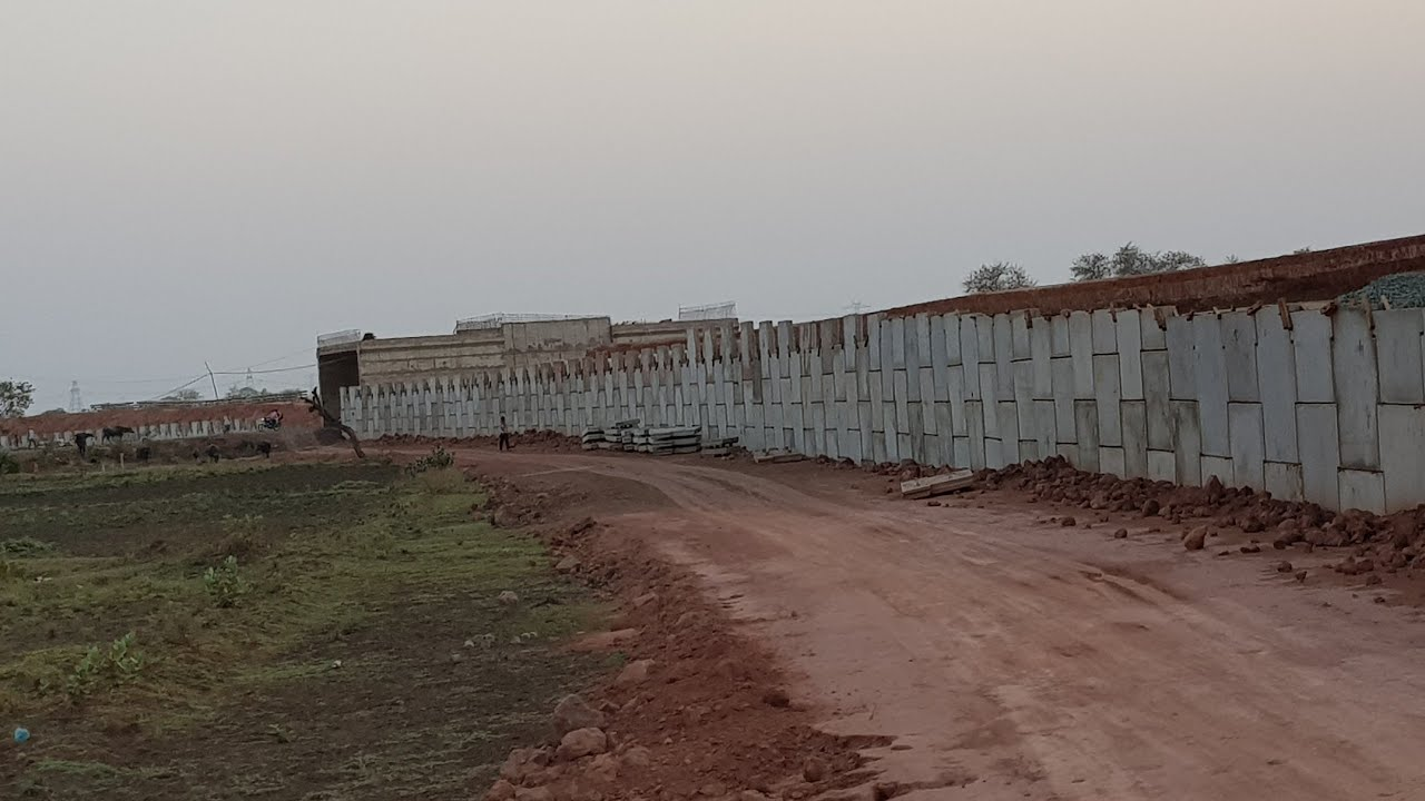 RE wall (Reinforced Earth wall) part 15