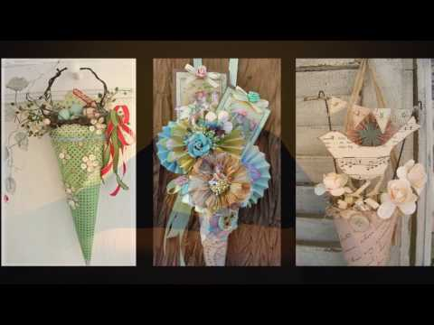 Vintage Easter Decor Ideas - Spring Tussie Mussie Crafts Inspo - Spring Decorating Ideas