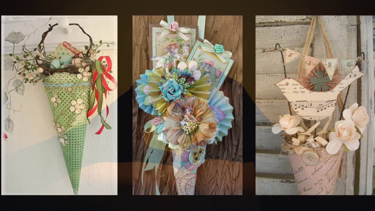 Vintage Easter Decor Ideas Spring Tussie Mussie Crafts