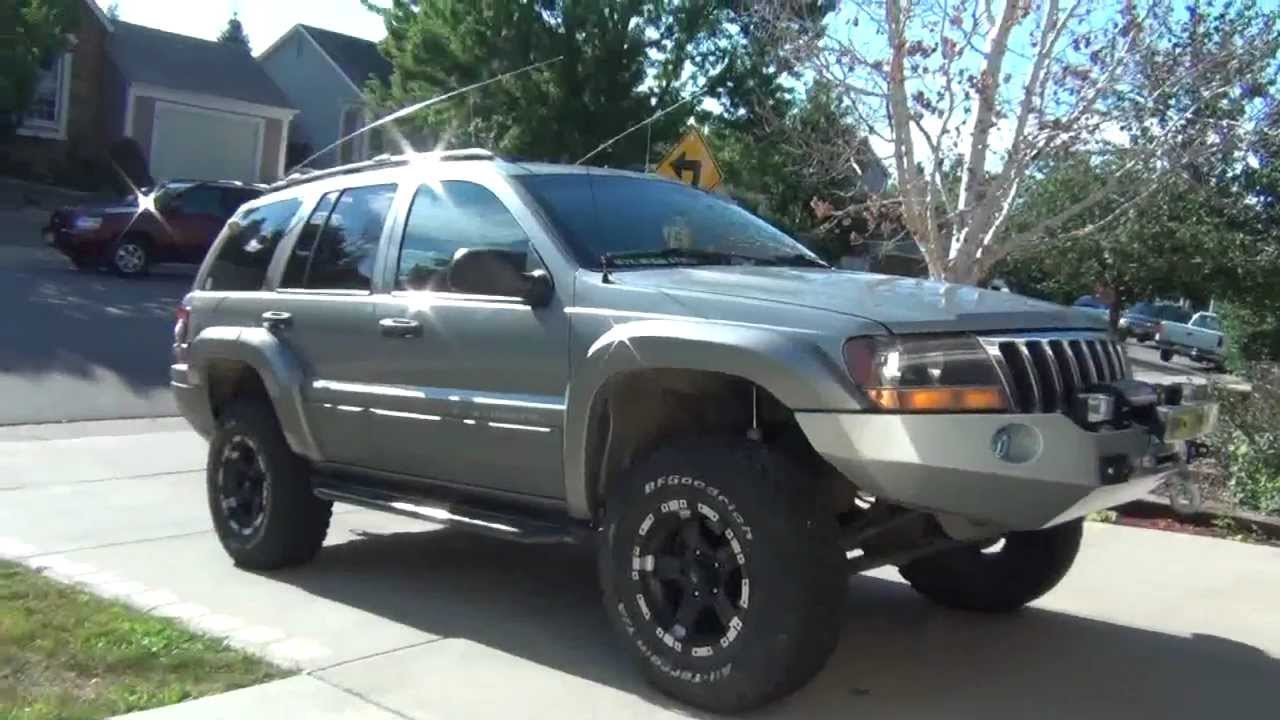 Grand Cherokee Winch Bumper And Flares