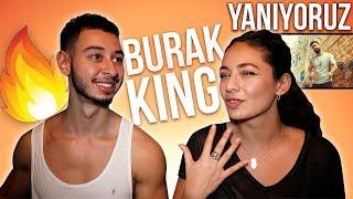 Burak King - Yanıyoruz Turkish Song Reaction | Jay & Rengin Video