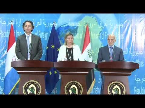Federica MOGHERINI visits Iraq - press conference
