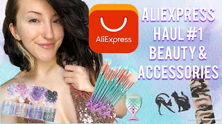 Aliexpress Haul #1 | 9 Items | Accessories | Compares To Wish!? |