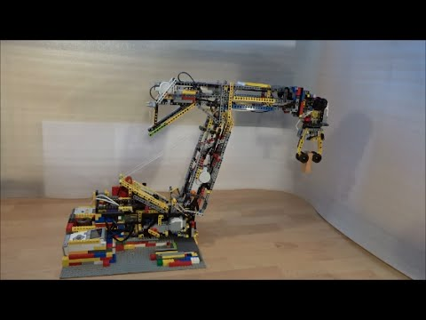 LEGO Mindstorms - Biggest 6-axis Robotic arm