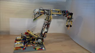 LEGO Mindstorms - Biggest 6-axis Robotic arm