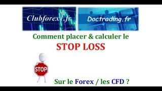 Comment placer et calculer le STOP LOSS sur le Forex et les CFD