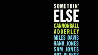 Cannonball Adderley Love For Sale