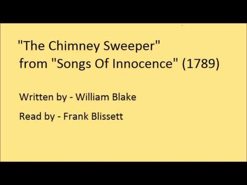 The Chimney Sweeper, from 'Songs Of Innocence', by William Blake