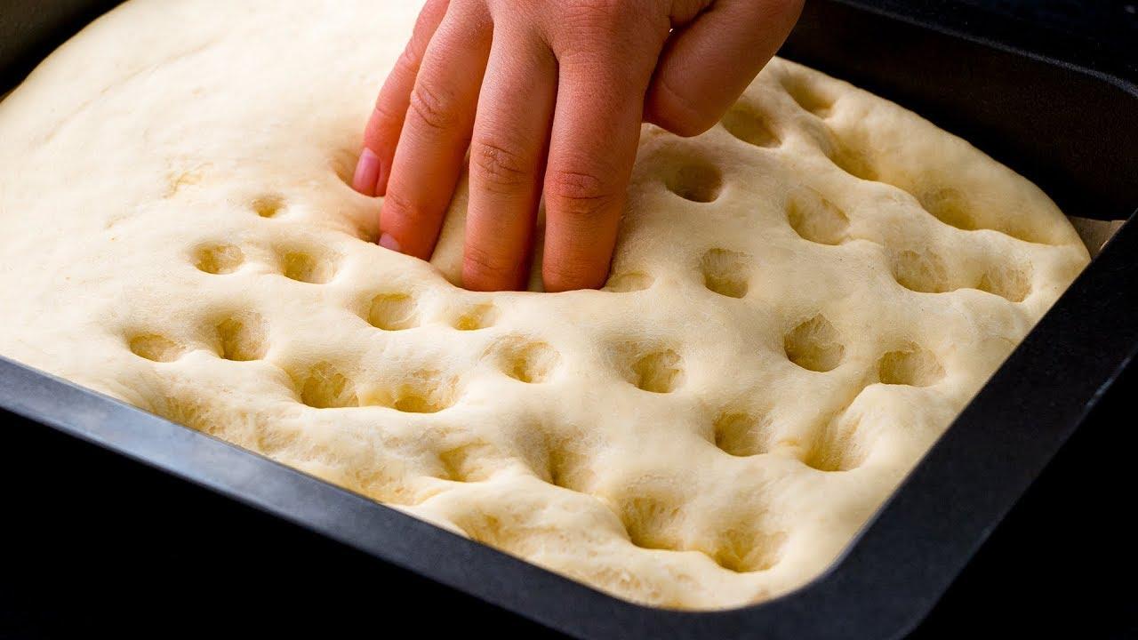 Butterlochkuchen Butterkuchen hausgemacht