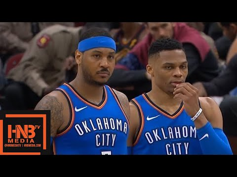 Cleveland Cavaliers vs Oklahoma City Thunder 1st Half Highlights / Jan 20 / 2017-18 NBA Season