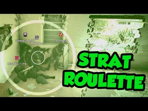 Strategy roulette rainbow six siege