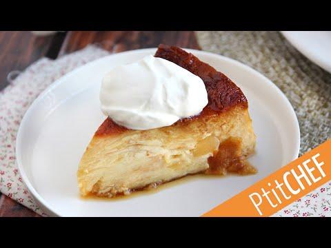 dessert-anti-gaspillage-et-gourmand-:-pudding-pomme,-croissant,-caramel