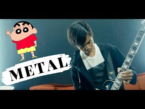 Crayon Shinchan METAL Version !!!