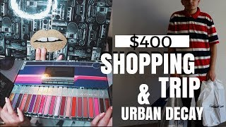 $400 SHOPPING SPREE AT THE MALL + URBAN DECAY