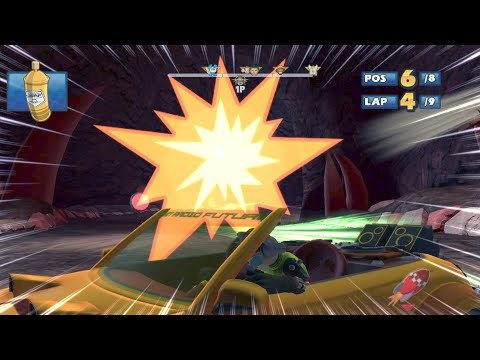 BEAT Lava Lair 9 Laps Expert (Request) Sonic & SEGA All Stars Racing. PC 2021! |