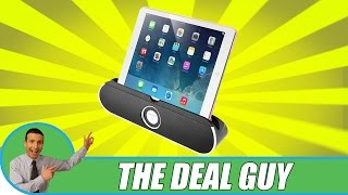 Video 🔈 The Best Bluetooth Wireless Speaker Dock ◄ Suits any Tablet or phone review download MP3, 3GP, MP4, WEBM, AVI, FLV Agustus 2018