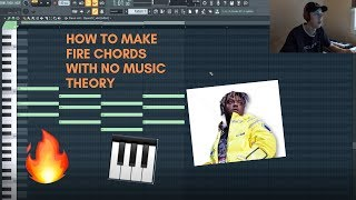 MAKING CHORDS THE EASY WAY WITH NO MUSIC THEORY KNOWLEDGE!!!