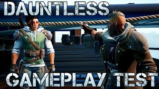DAUNTLESS : CLASSES - AVIS - GAMEPLAY - TEST en FRANÇAIS [FREE TO PLAY 2018]