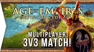 Age of Empires: Definitive Edition ► 3v3 Multiplayer Gameplay!