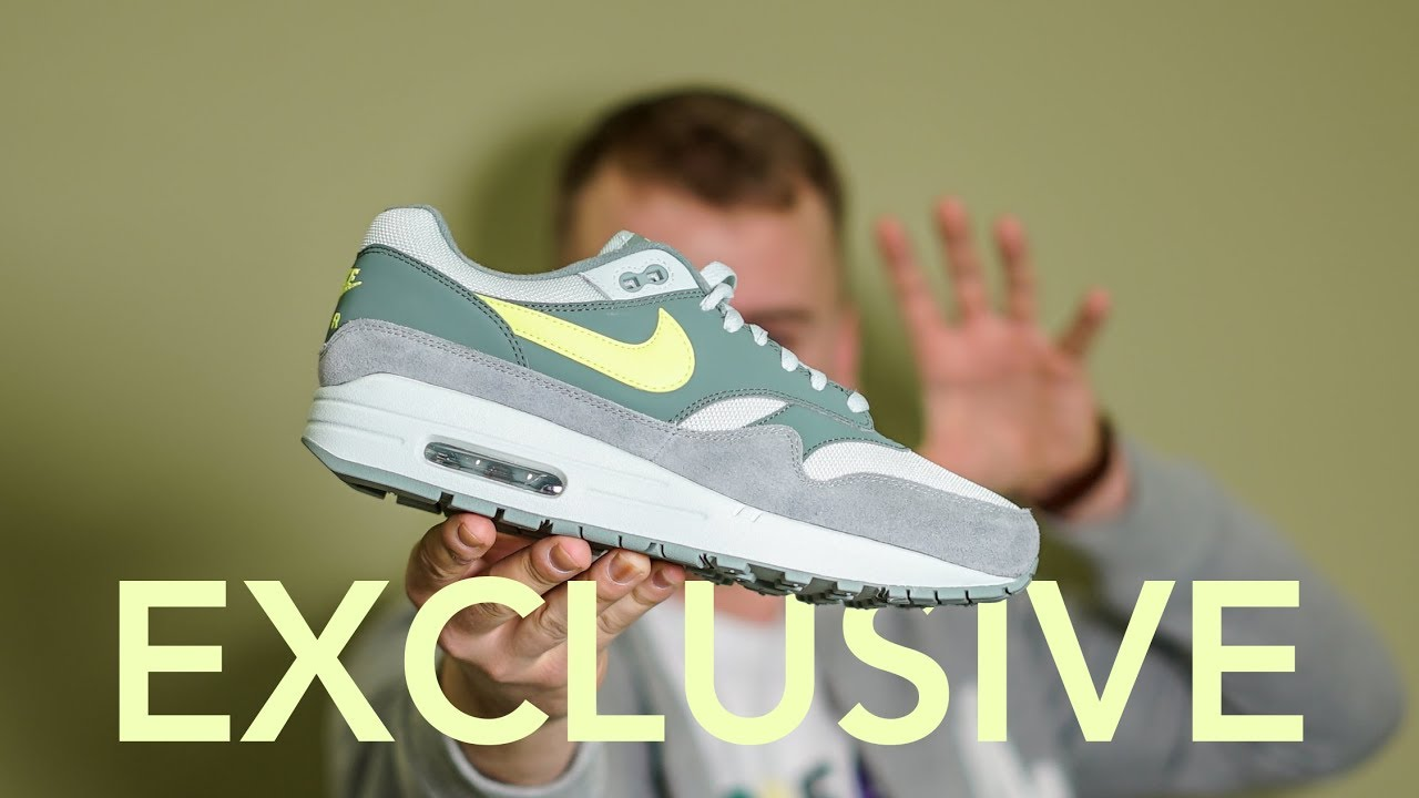 the best attitude 618d4 e78ce EXCLUSIVE NIKE AIR MAX 1  MICA GREEN  UNBOXING   DETAILED LOOK AND HONEST  REVIEW