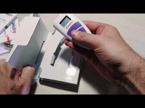 Инфракрасный термометр B. Well WF- 2000 обзор