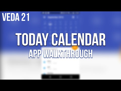 Today Calendar for Android App Walkthrough   SoleilTech