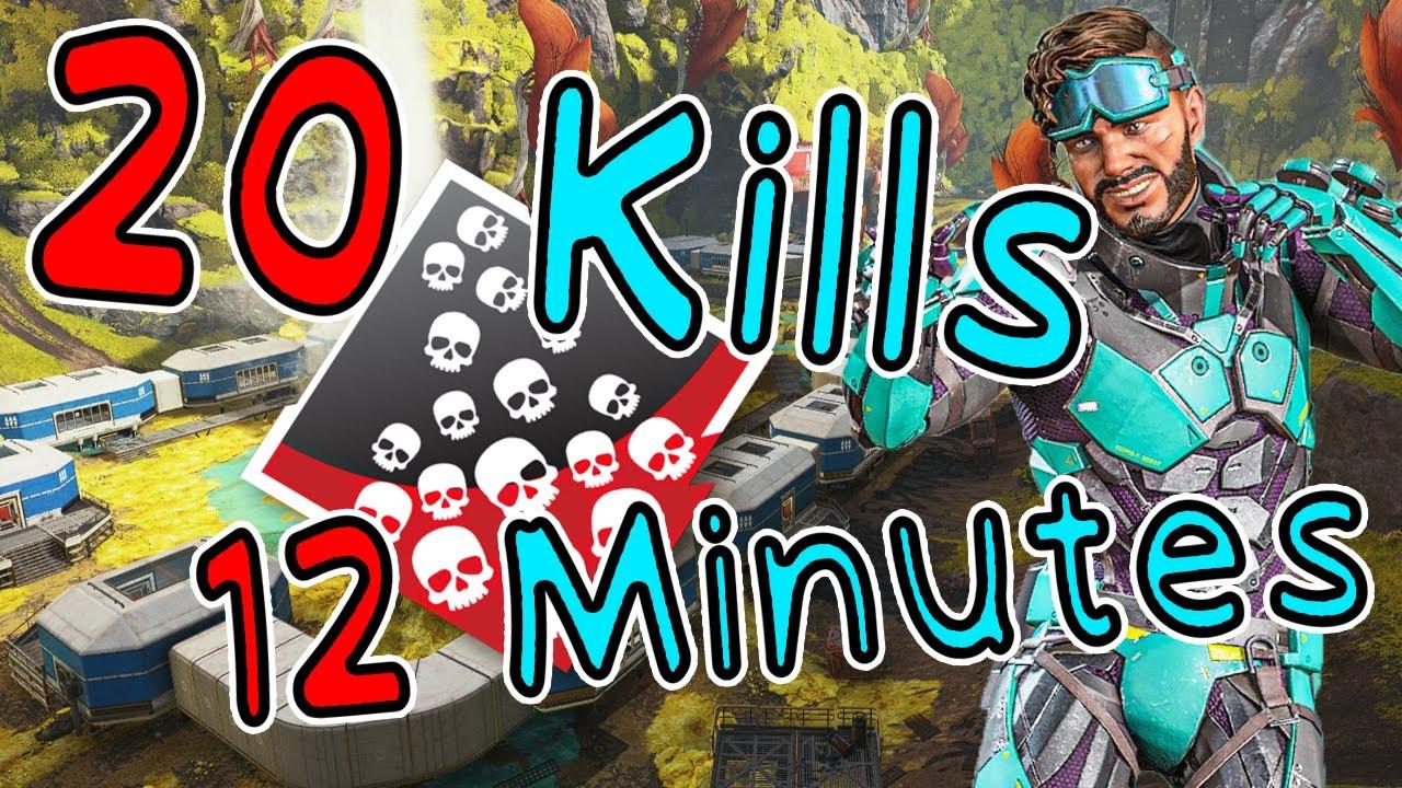 20 kills in  12 min #1 Mirage