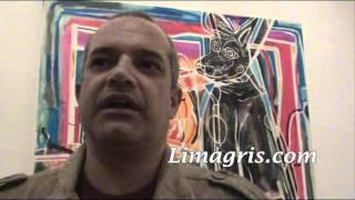 http://www.limagris.com Se inauguró en el Centro Colich la exposici...