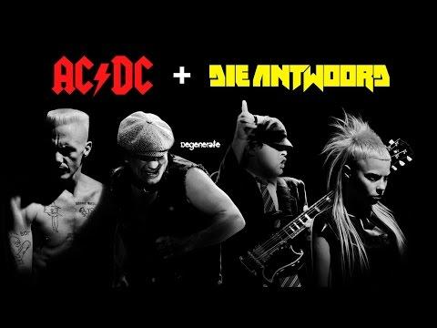 Degenerate | Dis iz Why I'm Back in Black (AC/DC + Die Antwoord) [Remix/Mashup]