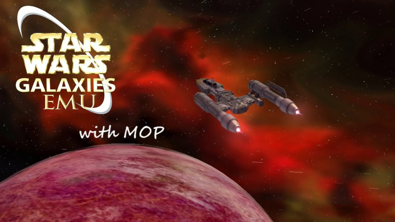 star wars galaxies emu with mop memories youtube