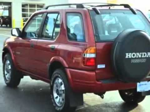 1999 honda passport 4wd ex auto suv fort wayne in youtube. Black Bedroom Furniture Sets. Home Design Ideas