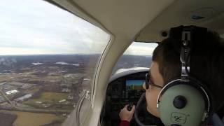 Flight Lesson in Piper Archer III N656ST (1/21/13)