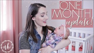 TONGUE TIES, POSTPARTUM SEX | 1 Month Baby + Mommy Update