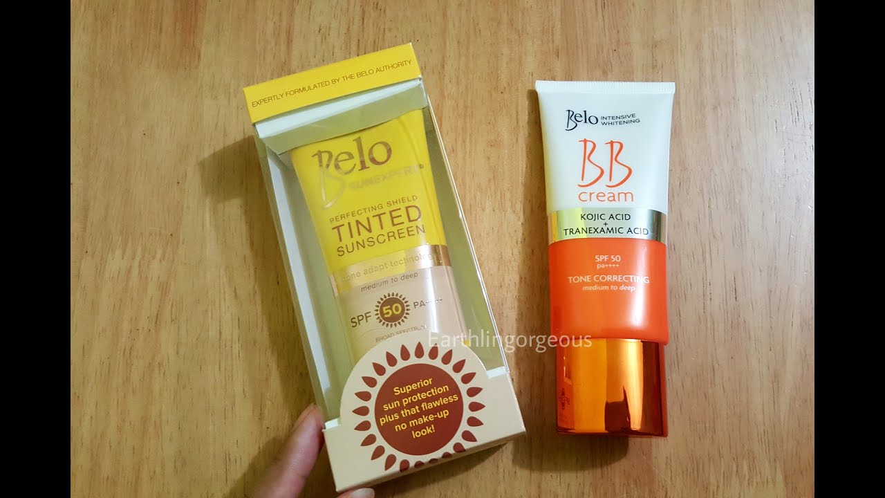 Belo BB Cream Belo Tinted Sunscreen Review