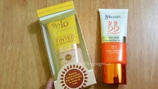 Belo BB Cream and Tinted Sunscreen Review