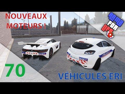 [Arma 3 Life] ERI | Episode n°70 : Nouveaux moteurs : Renault RS01 + Megane RS !