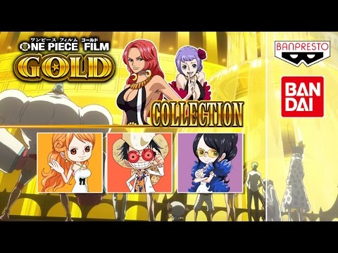 ONE PIECE FILM GOLD FIGURINES COLLECTION !! Glitter & Glamours Figuarts  Zero WCF DXF